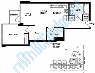1887 Crowe Street Floor Plan Pinnacle Living False Creek