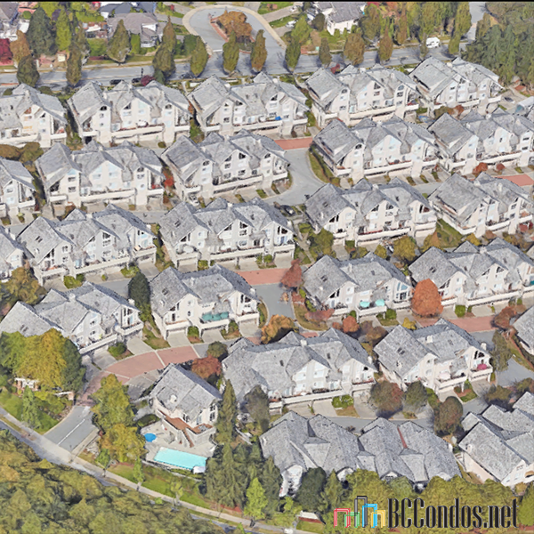 Oak Creek Apartments Map: 1485 Parkway Blvd, Coquitlam