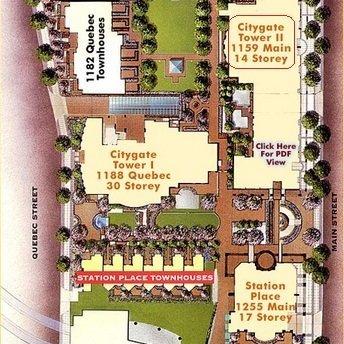 City Gate Area Map
