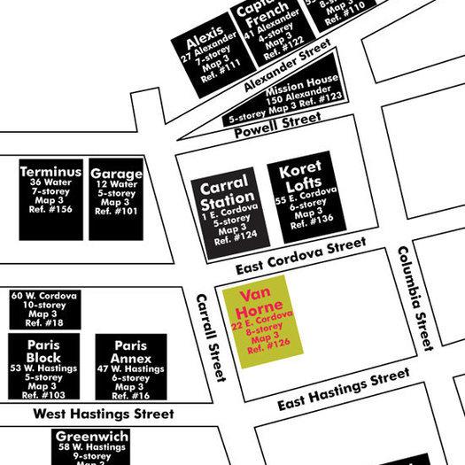 Van Horne Area Map