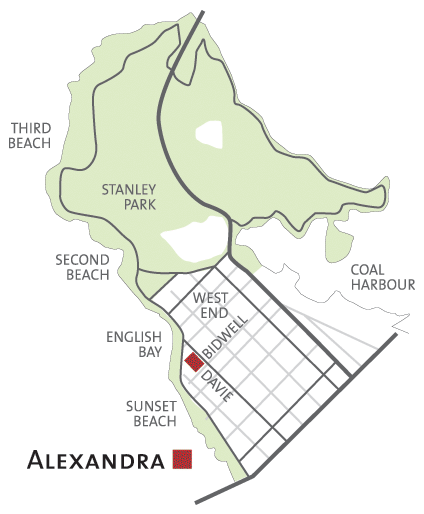 Alexandra Area Map