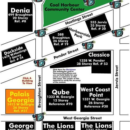 Palais Georgia Area Map