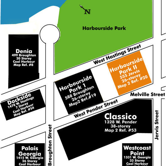 Harbourside Park II Area Map