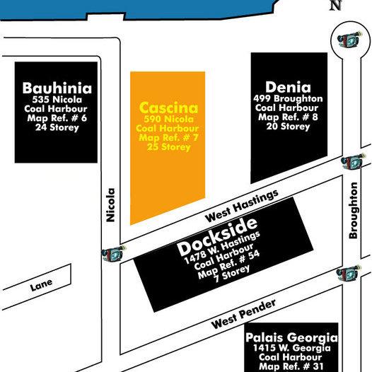 Cascina Area Map
