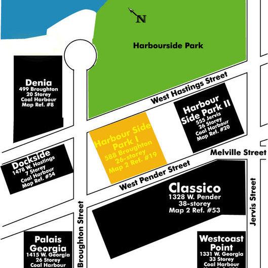 Harbourside Park I Area Map