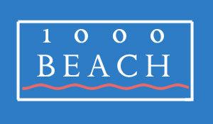 1000 Beach Logo