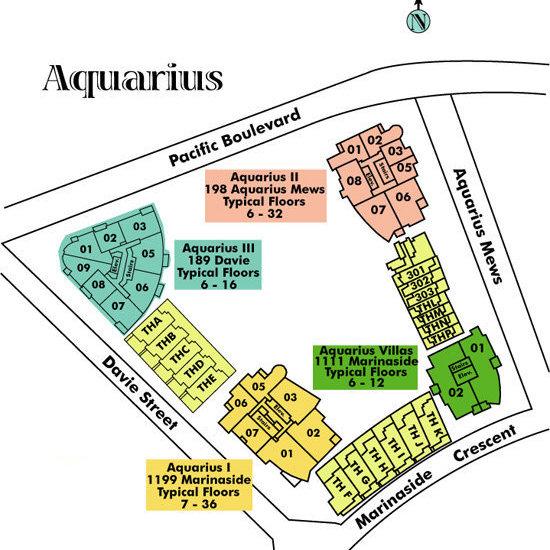 Aquarius III Area Map