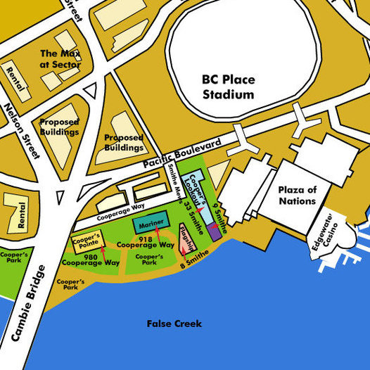The Villas at Coopers Lookout Area Map