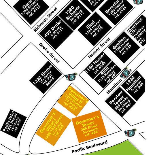 Governor's Villa II Area Map