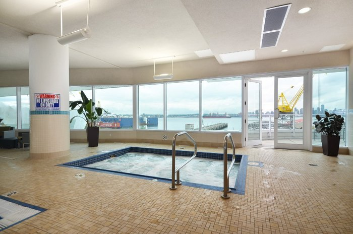 The atrium at the peir north vancouver lower londstal apartments waterfront view condos ashley nielsen real estate seabus victory ship way great buy good value pinnacle