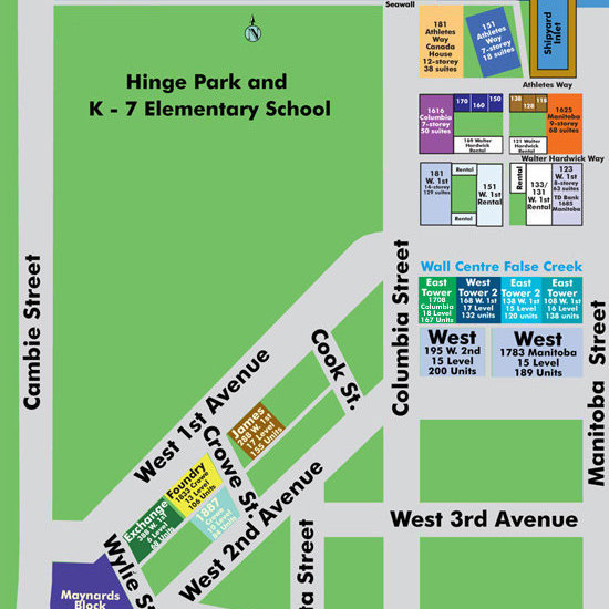 Exchange Area Map