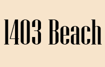 1403 Beach Logo