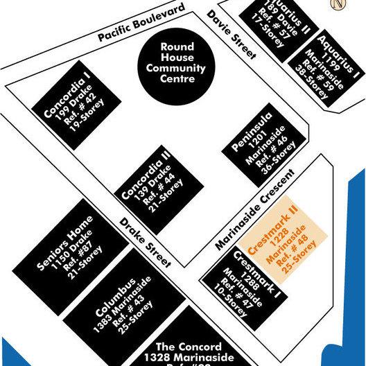 Crestmark II Area Map