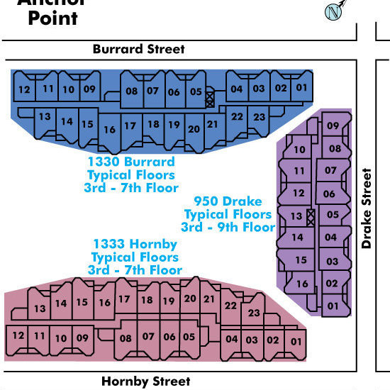 Anchor Point Area Map