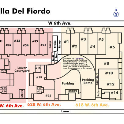 Stella Del Fiordo Area Map
