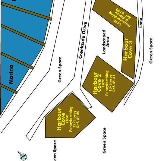 Harbour Cove Area Map