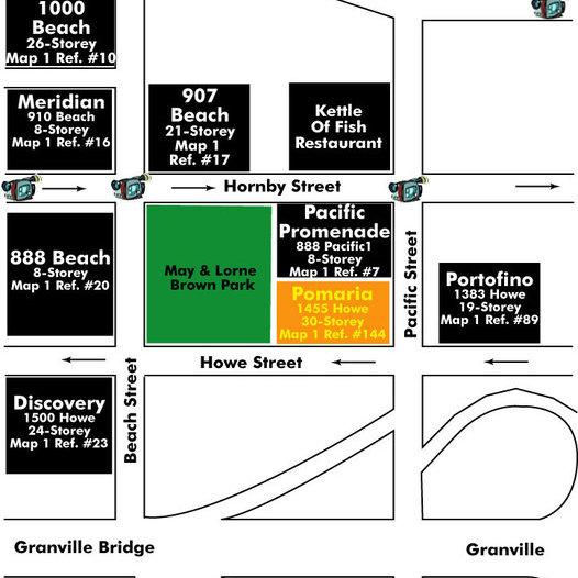 Pomaria Area Map