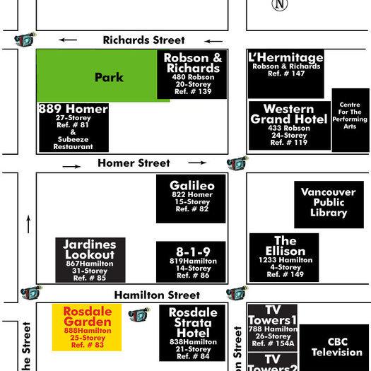 Rosedale Gardens Area Map