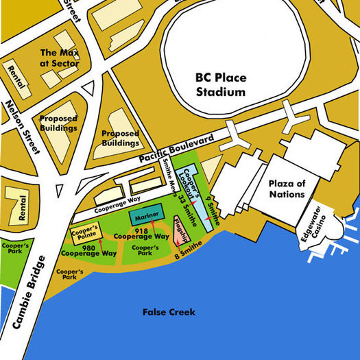 Mariner Area Map