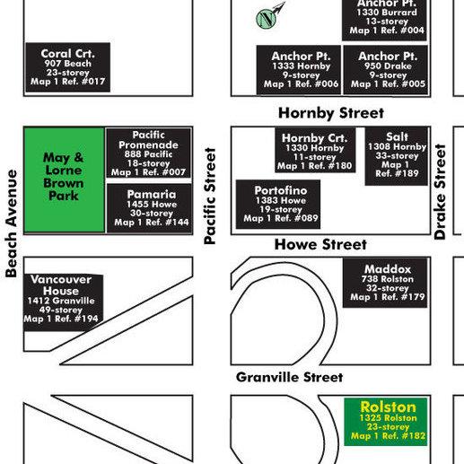 Rolston Area Map