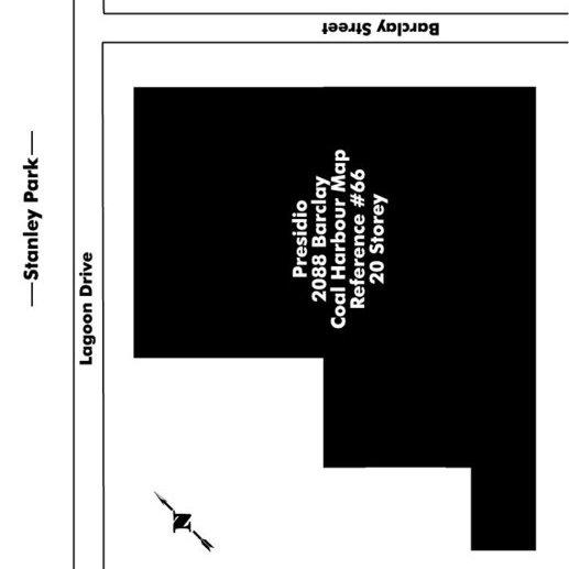 The Presidio Area Map