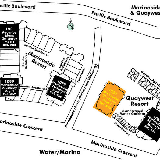 Quaywest Area Map