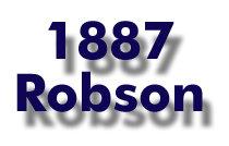 1887 Robson Logo