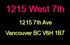 1215 West 7th Logo