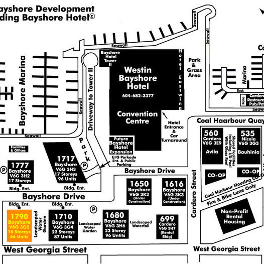 Bayshore Tower 1 Area Map