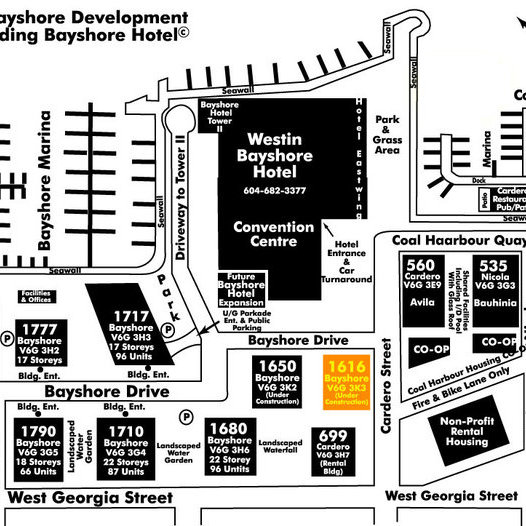 Bayshore Gardens Area Map