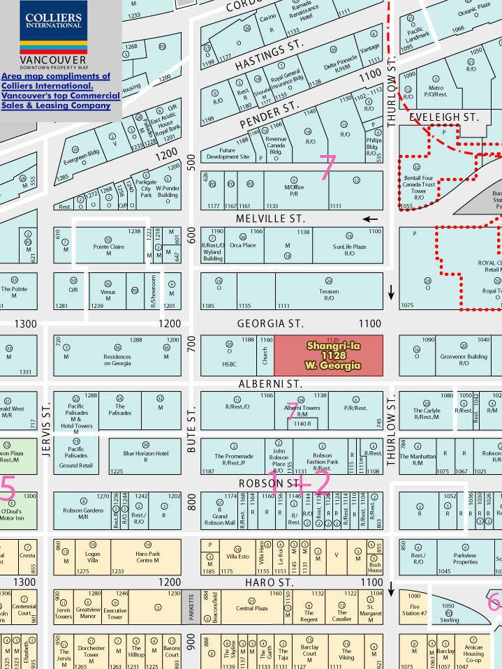 Living Shangrila Area Map