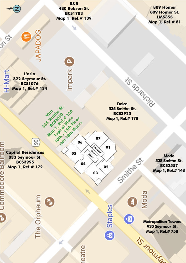 Vita Area Map