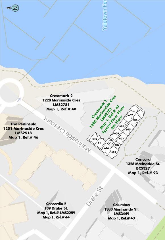 Crestmark I Area Map
