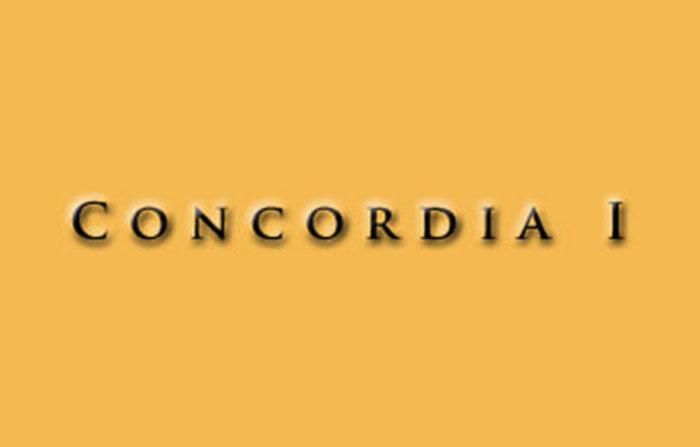 Concordia I Logo