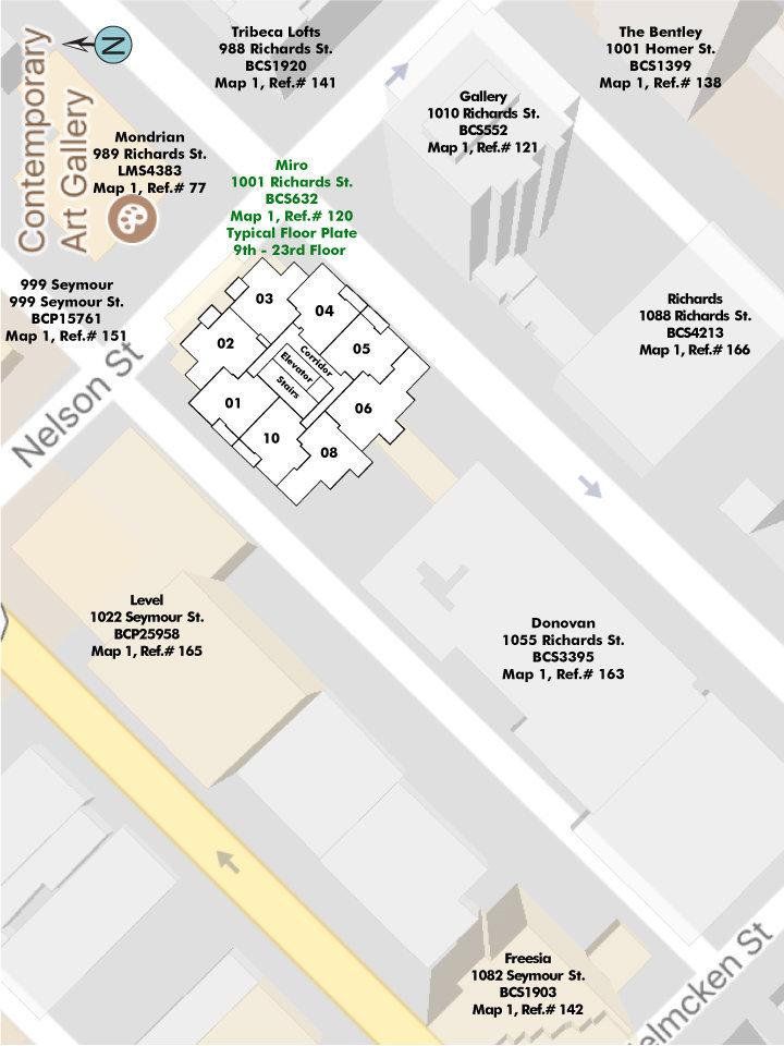 Miro Area Map
