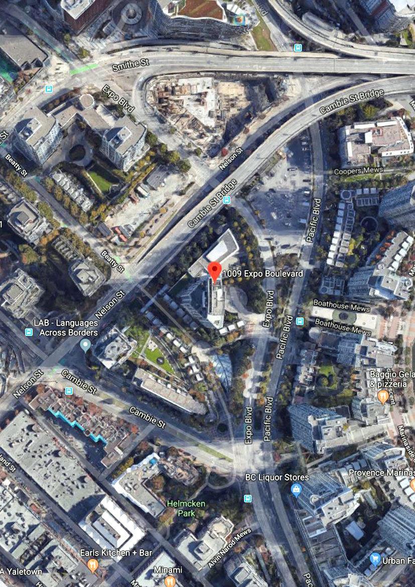 Landmark 33 Area Map