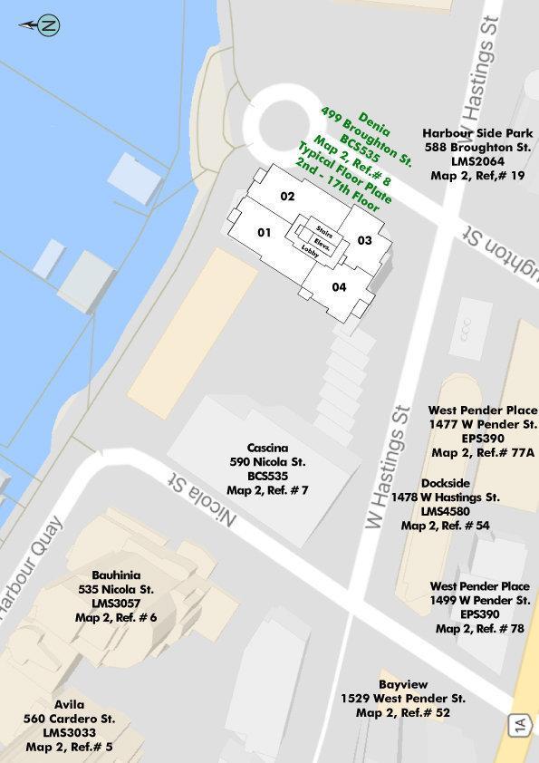 Denia Area Map