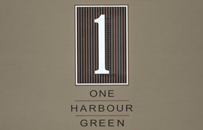 One Harbour Green Logo