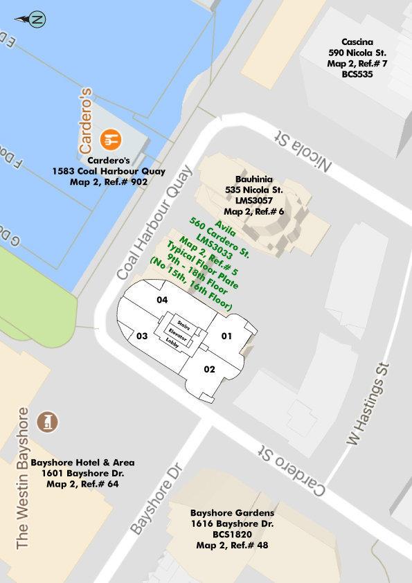 Avila Area Map