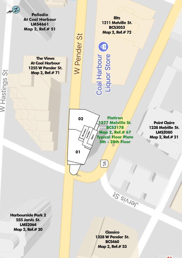 Flatiron Area Map