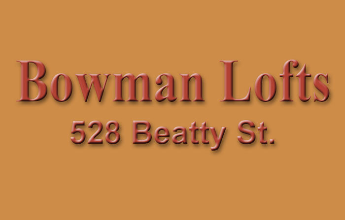 Bowman Lofts Logo