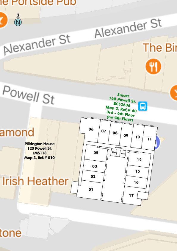 Smart Area Map