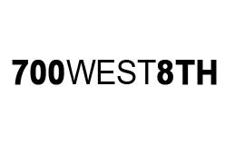 700 West 8th Logo
