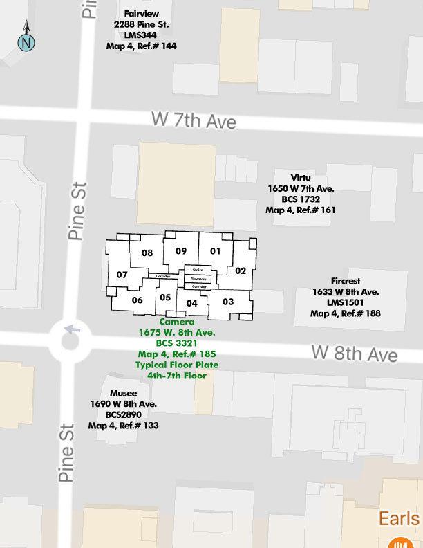 Camera Area Map