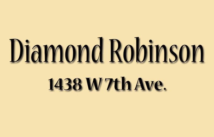 Diamond Robinson Logo