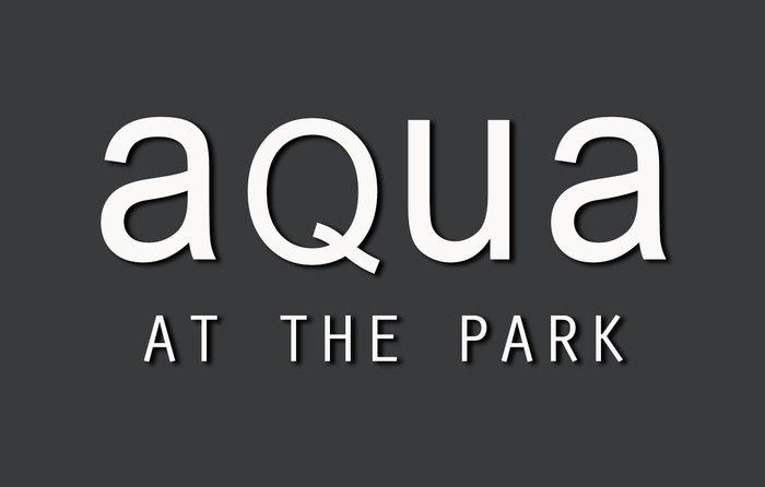 Aqua At The Park Logo