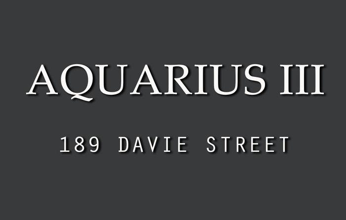 Aquarius III Logo