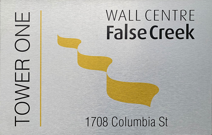 Wall Centre False Creek West 1 Tower Logo