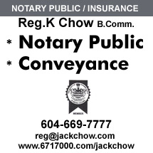 Reg Chow Insurance & Notary